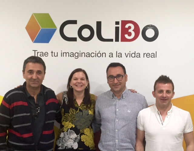Los Responsables De PRINT-Rite Visitan CoLiDo España