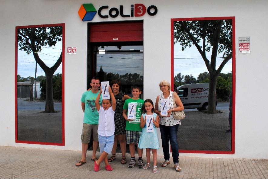 Entrega De Los Premios Del I Concurso De Dibujo 3D De CoLiDo