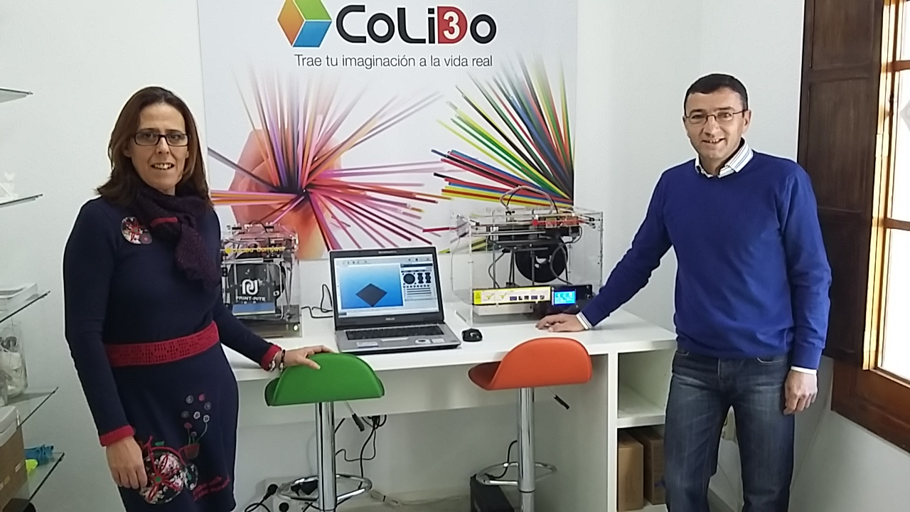 CoLiDo Y CEI 91: Impresoras 3D Valverde Del Camino