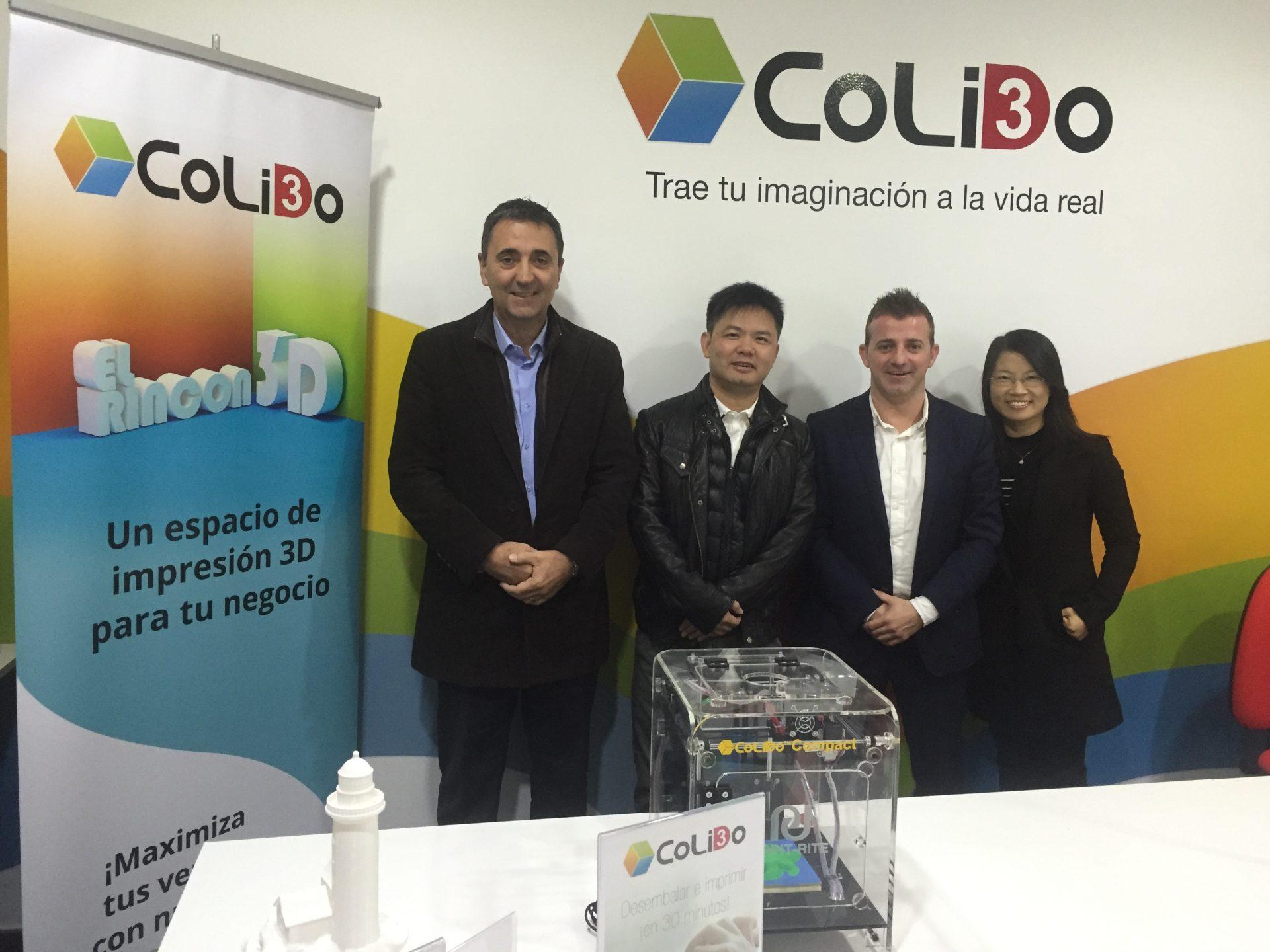 CoLiDo Ibérica: Referencia Internacional Para Las Impresoras 3D De CoLiDo