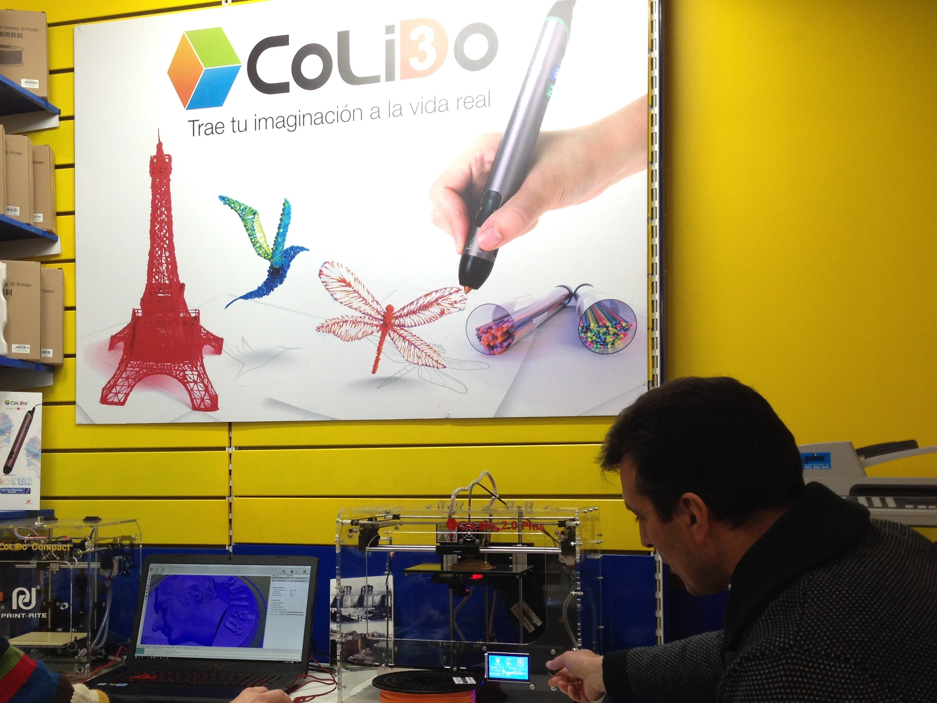 Impresoras 3D Lugo: GALINK Ya Es Distribuidor Oficial CoLiDo