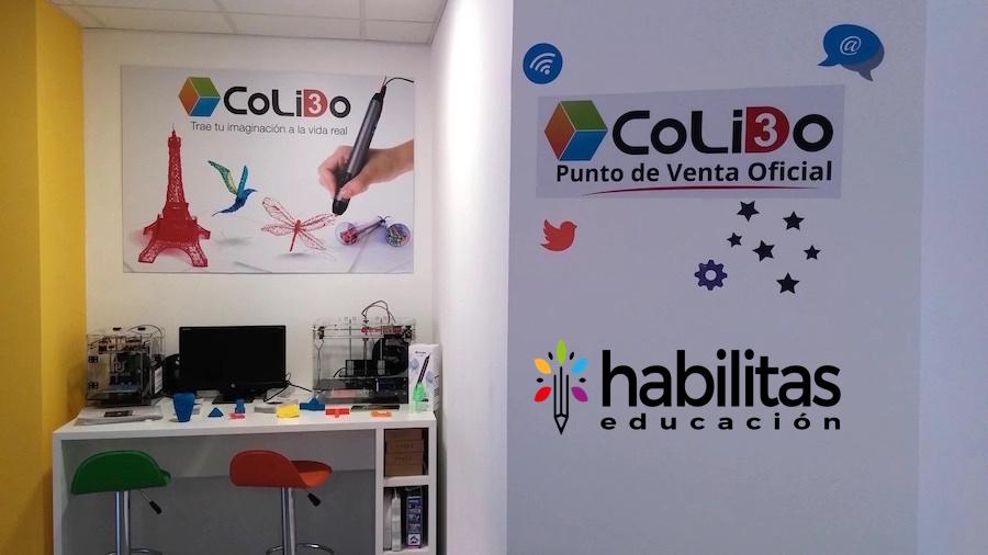 Habilitas Educación Impresoras 3d Colido.es