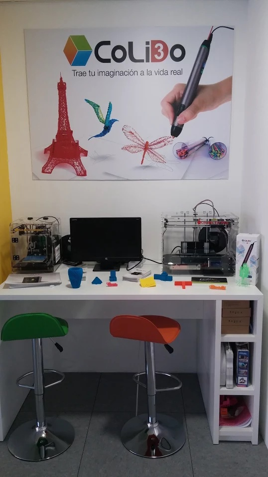 rincón impresoras 3d colido iberica