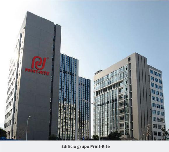 edificio print Rite china
