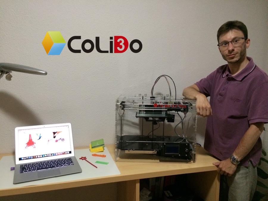 Creabotics 3D Colido