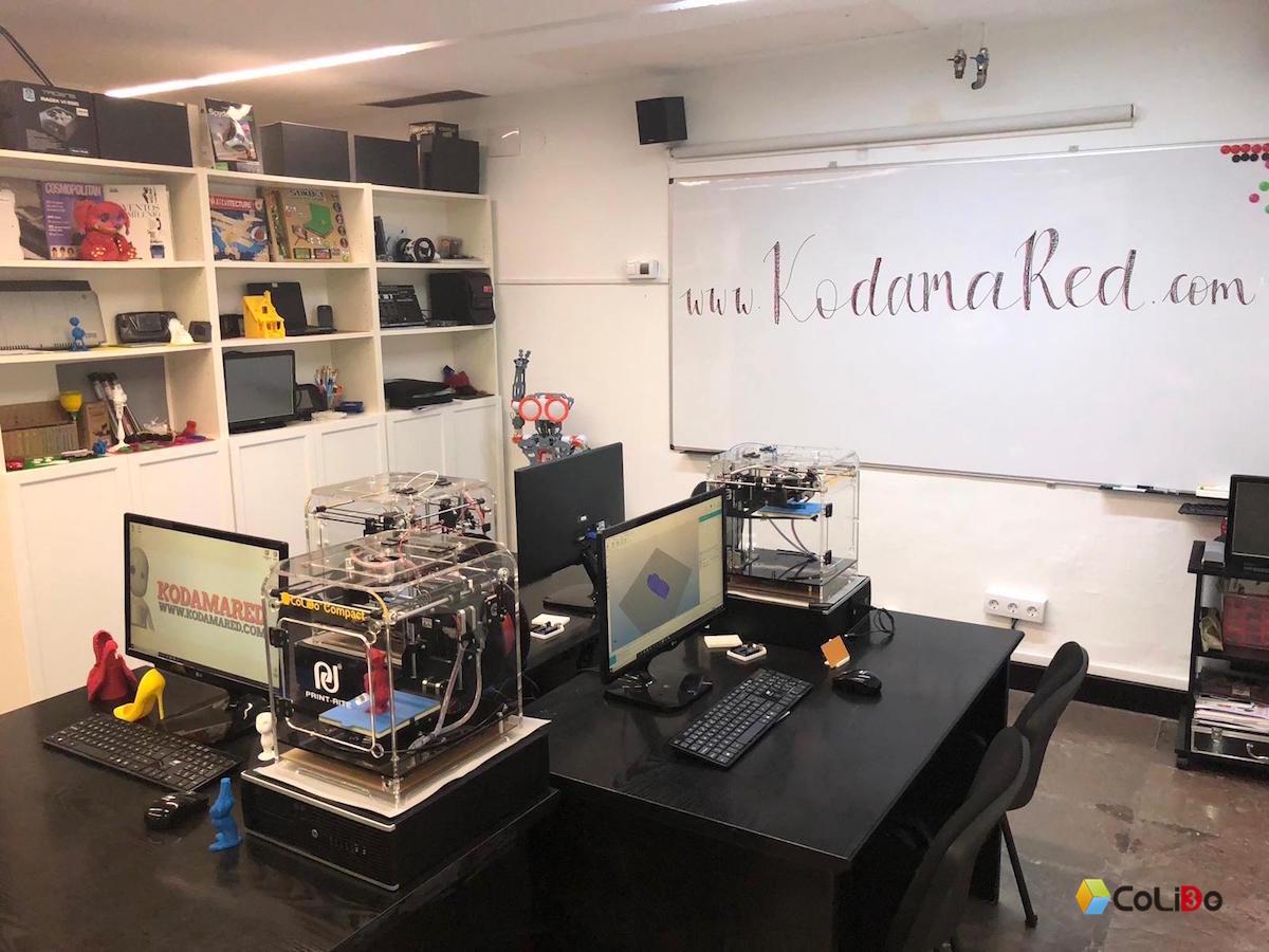 El Proyecto ACADEMIA 3D Comienza Su Andadura En Donosti Con KODAMARED