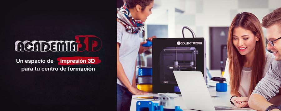 CoLiDo Ibérica Lanza El Proyecto ACADEMIA 3D