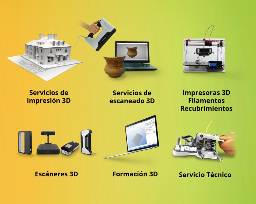 servicios 3D colido