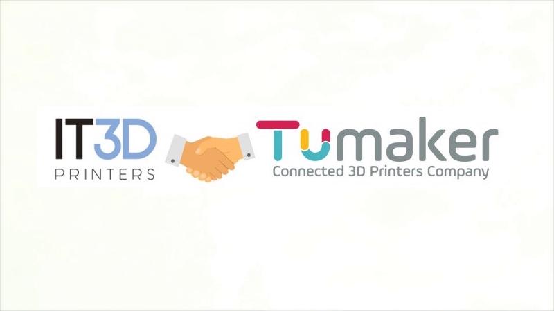 Acuerdo IT3DPrinters Tumaker
