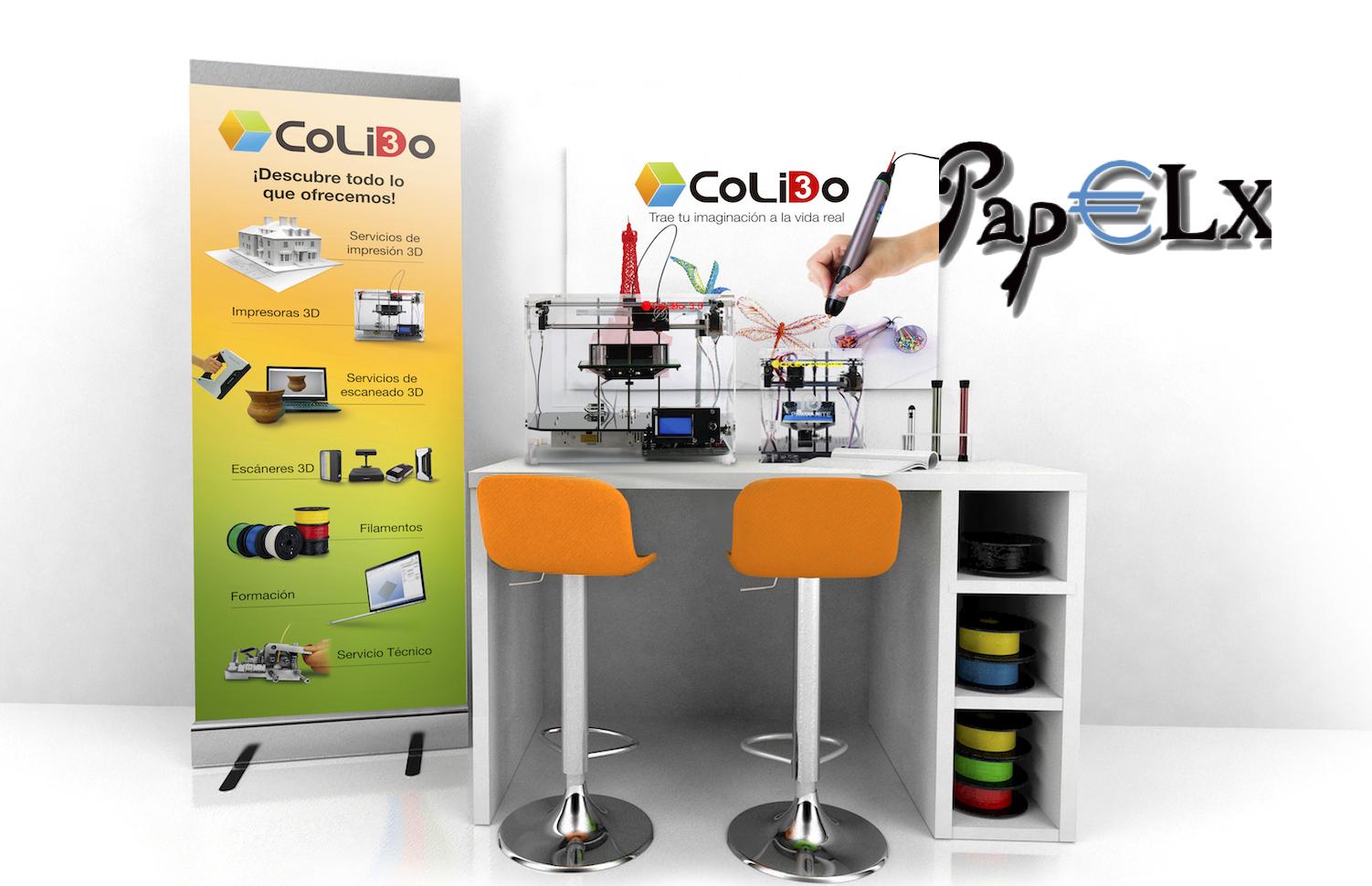 Papelx: Nuevo Distribuidor Oficial CoLiDO En Elche