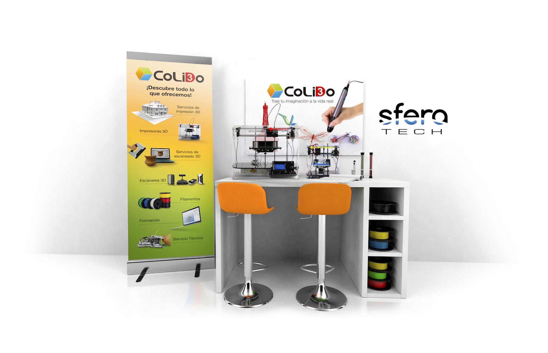 SferaTech, Nuevo Distribuidor Oficial CoLiDo En Huesca