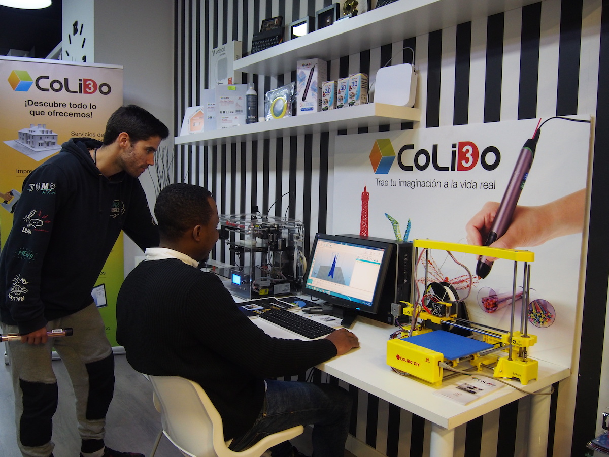 Las Impresoras 3D De CoLiDo Llegan A Tintared