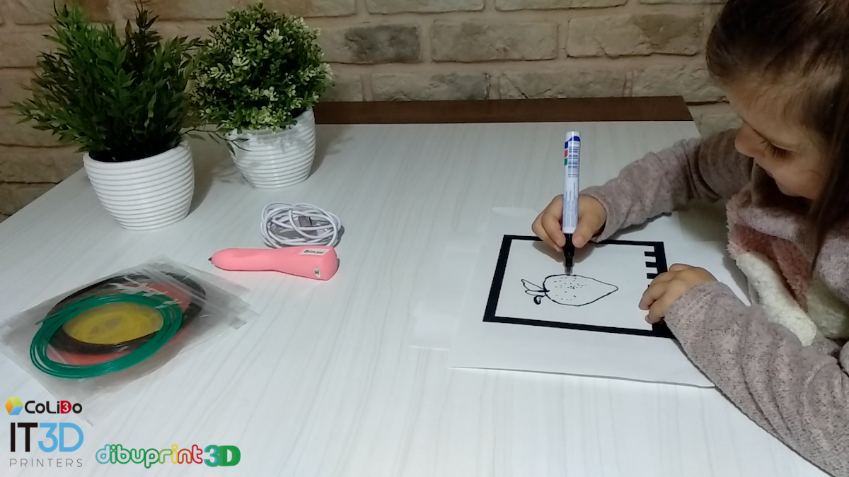 DIBUPRINT 3D: Dibujos Que Cobran Vida (VIDEO)