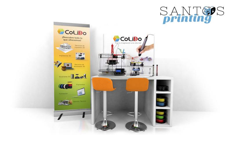 Santos Printing, Nuevo Rincón 3D En Cataluña