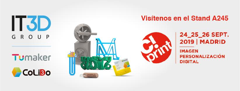 Impresión 3D Sin Límites En C!Print